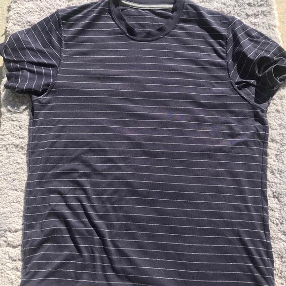 Classic Navy Striped Shirt